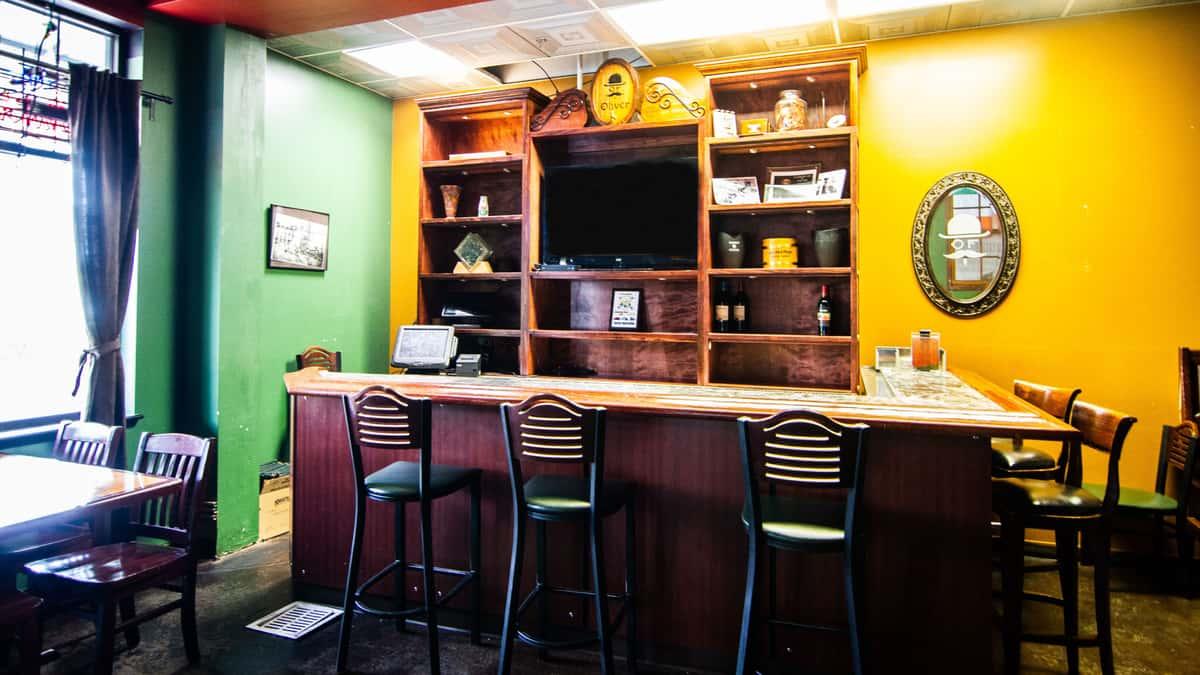interior small bar