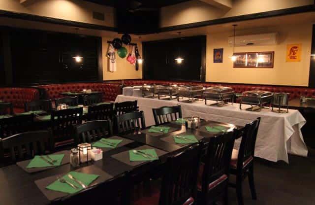 Newport Rib Company Banquet Room