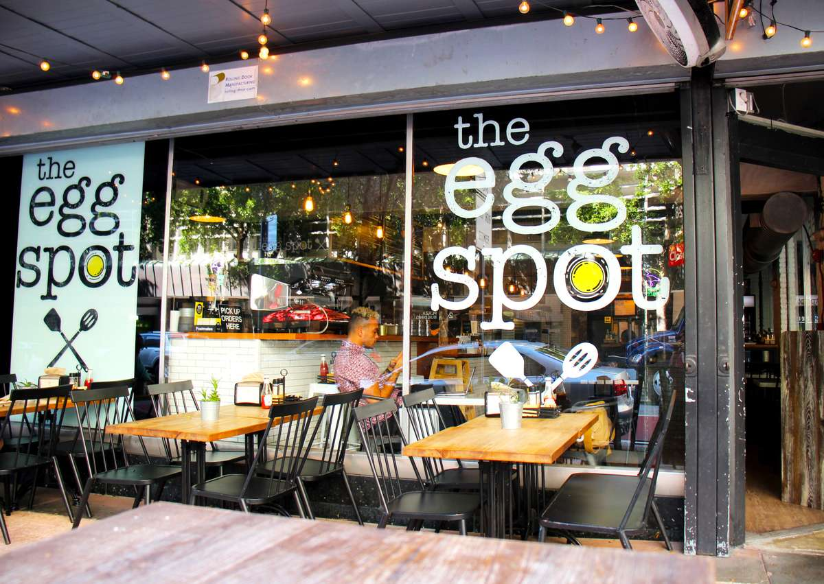 exterior photo of the egg spot