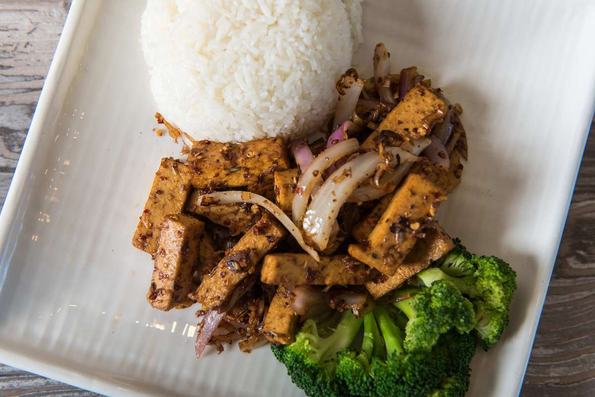 "Lemon Grass ""Chicken"" or ""Beef"" or Tofu"