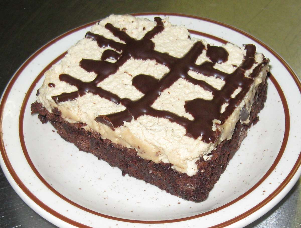 Peanut Butter Frosted Brownies