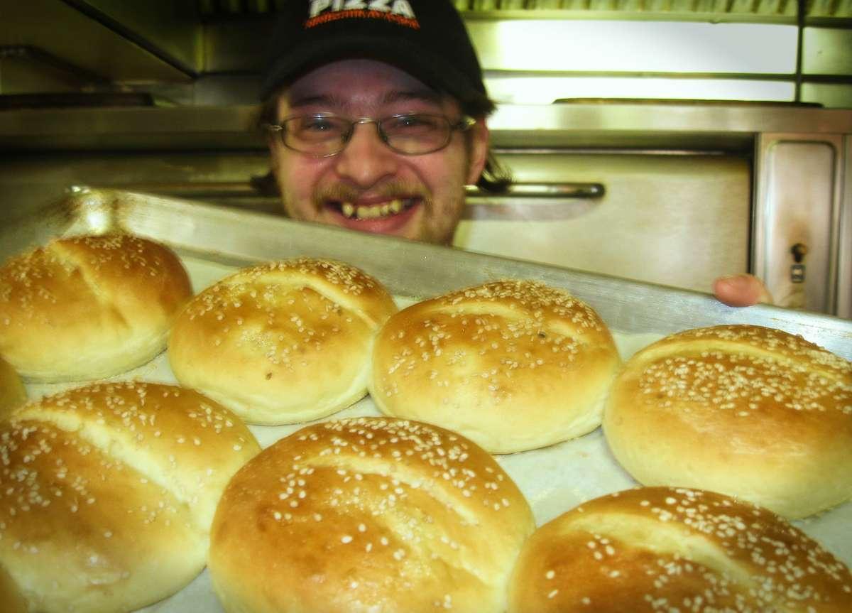 john with buns