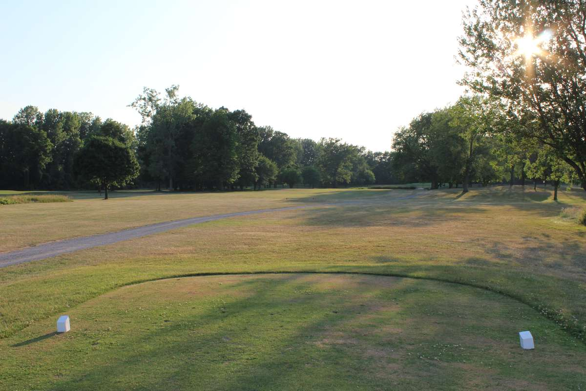 View of hole 7