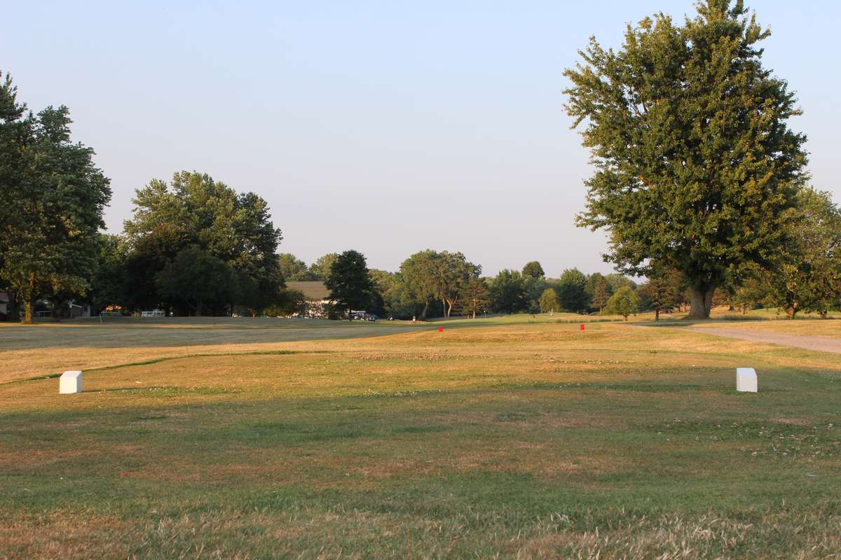 View of hole 2