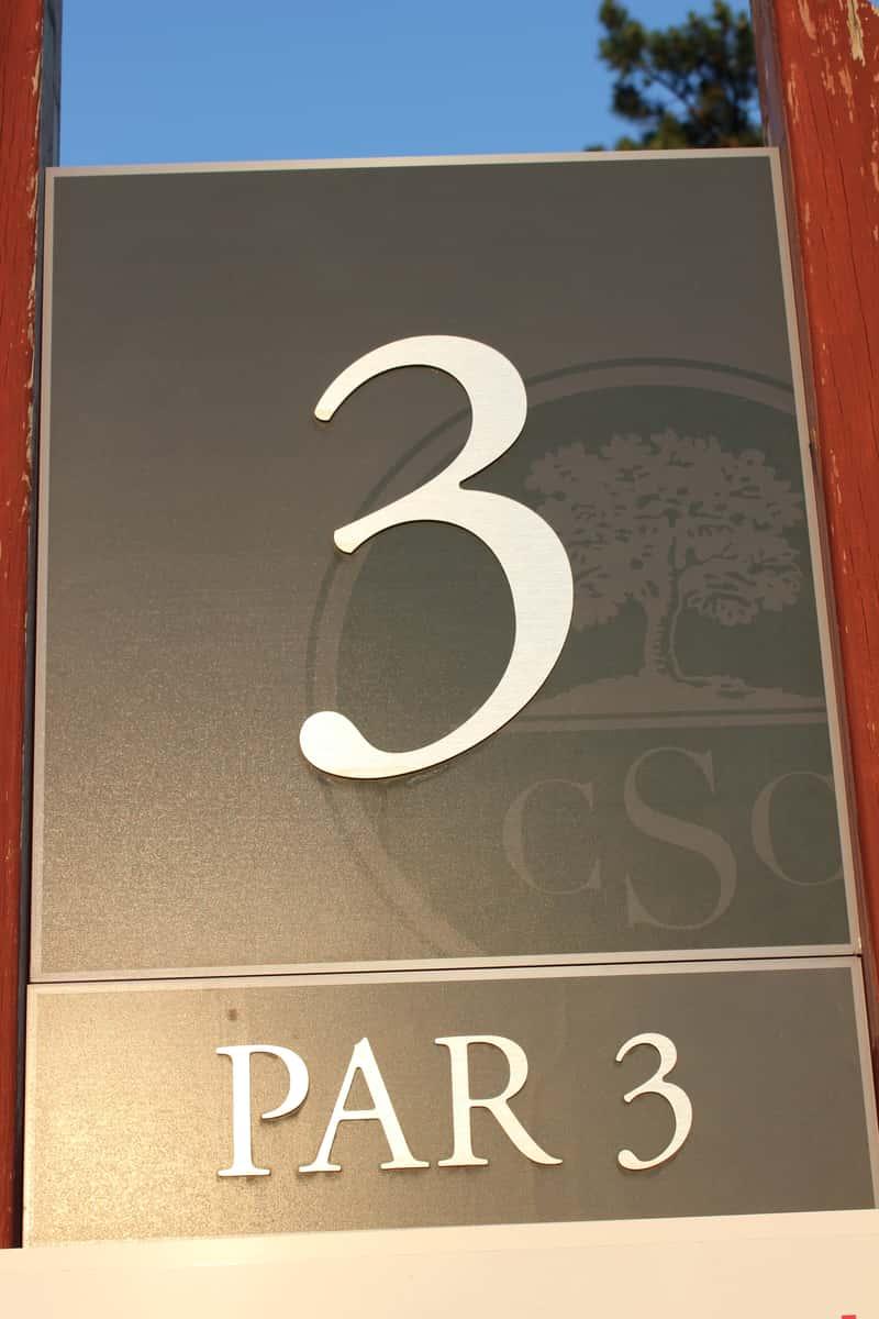 Hole 3, Par 3
