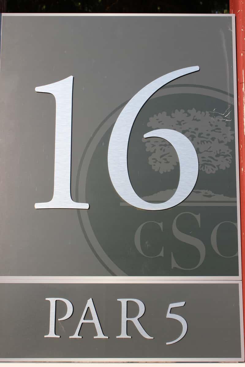 Hole 16, par 5