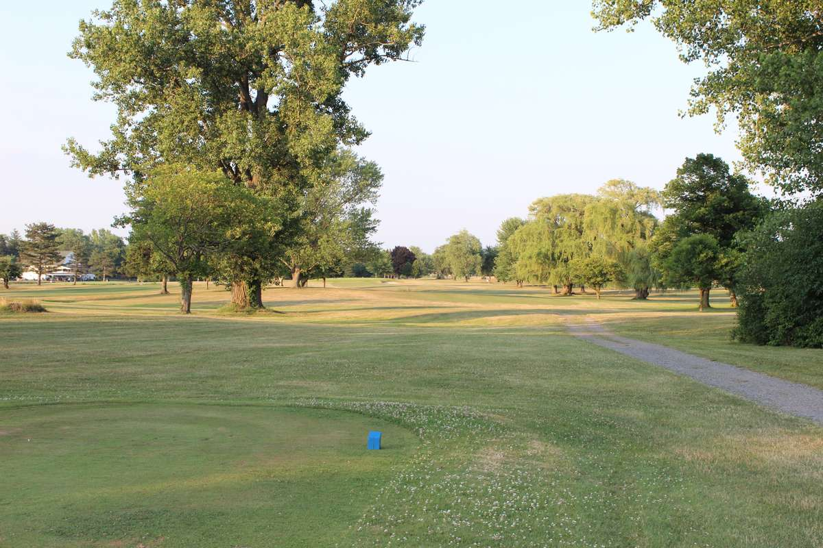 View of hole 9