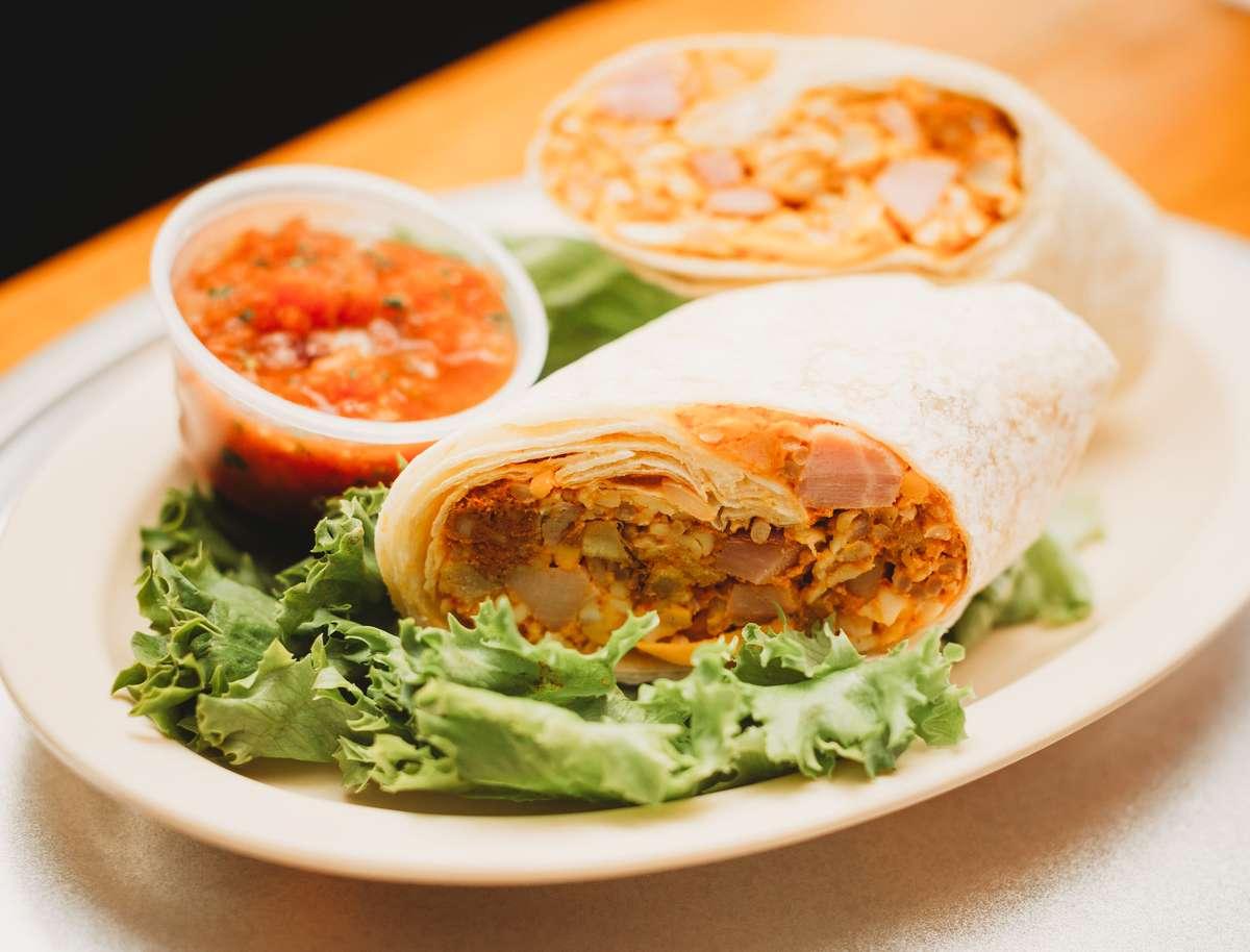 Create Your Own Breakfast Burritos