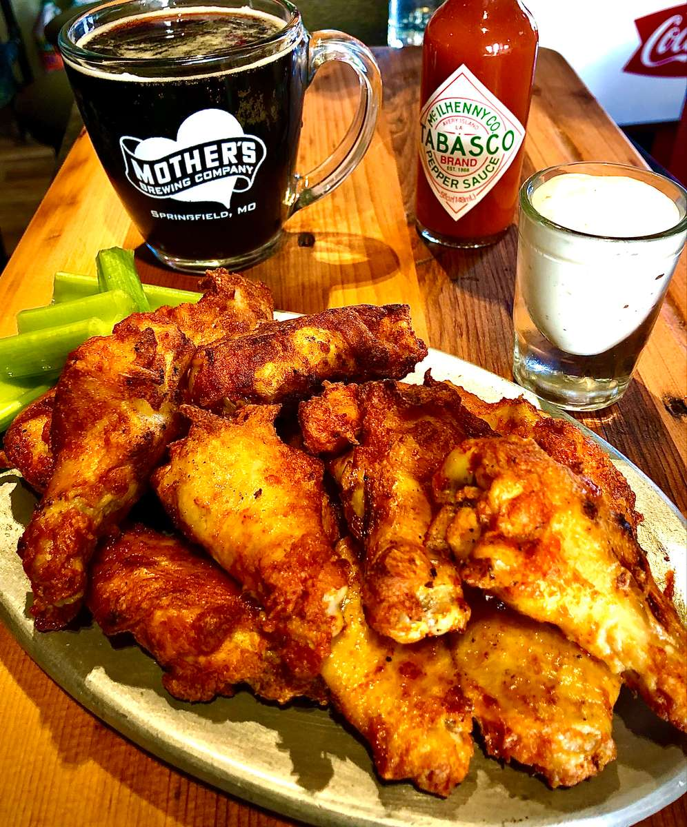 Famous Wood-Fired Wings