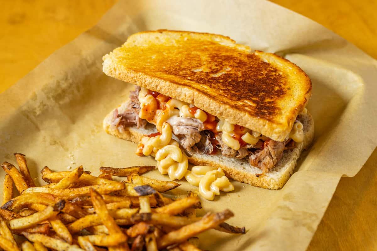 mac daddy sandwich