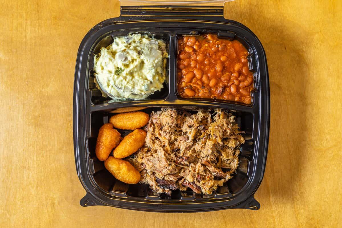 Eastern Chopped BBQ Plate