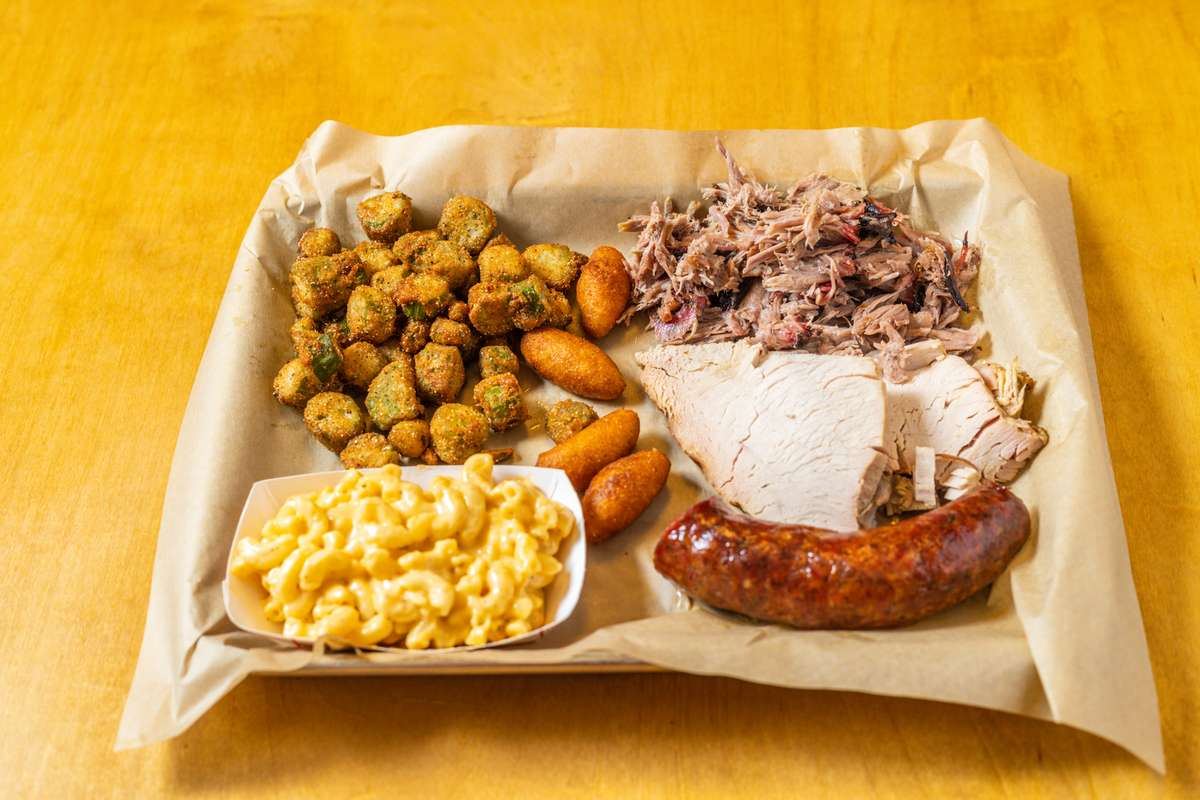 Combination 3 Meats Plate