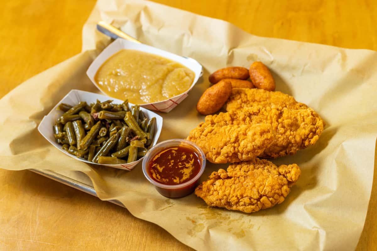 Chicken Tenders Plate