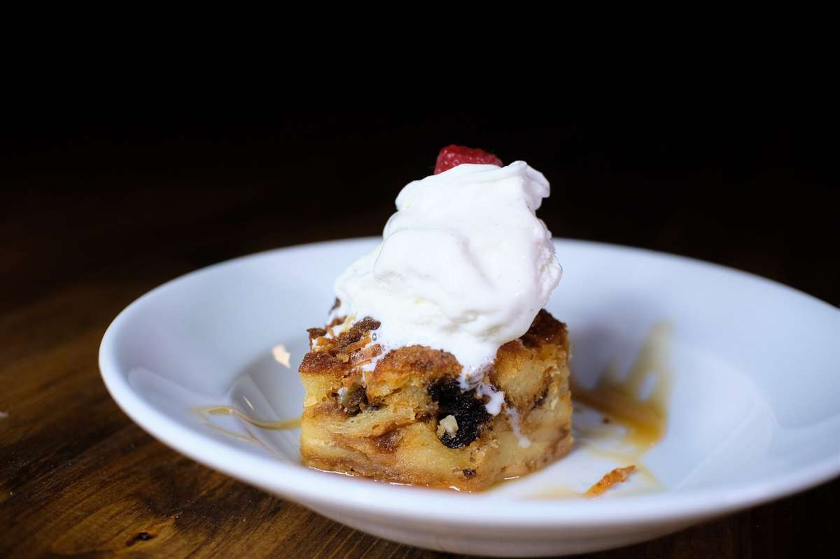 Banana Rum Bread Pudding