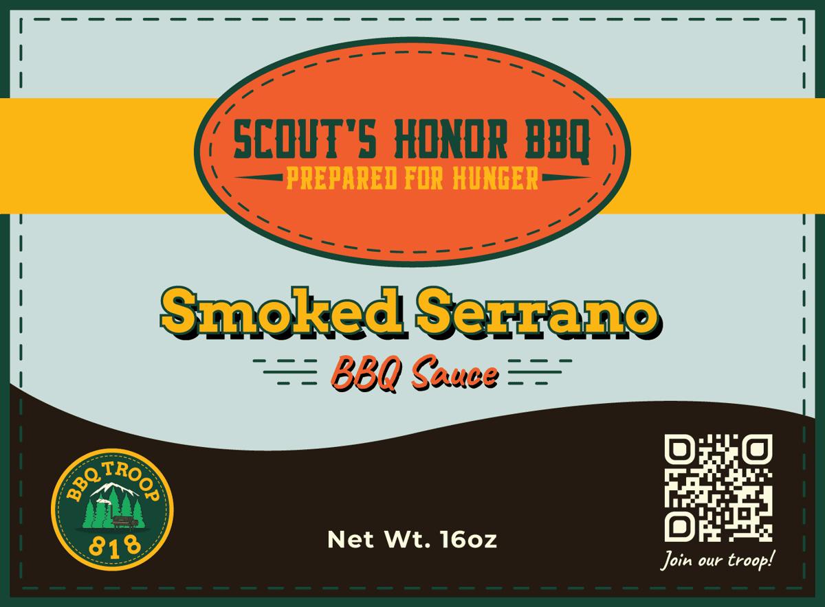 Smoked Serrano BBQ - 16oz