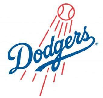 Go Dodgers Platter