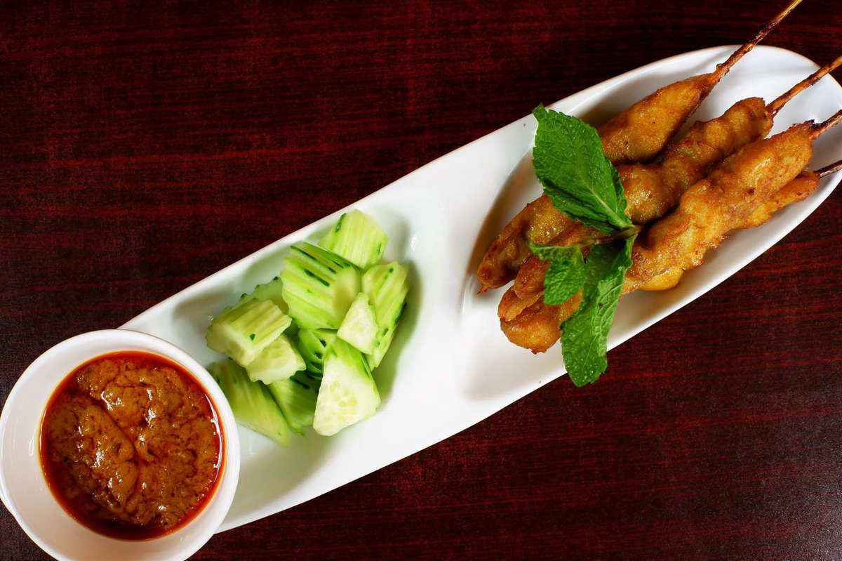 Satay Chicken or Beef