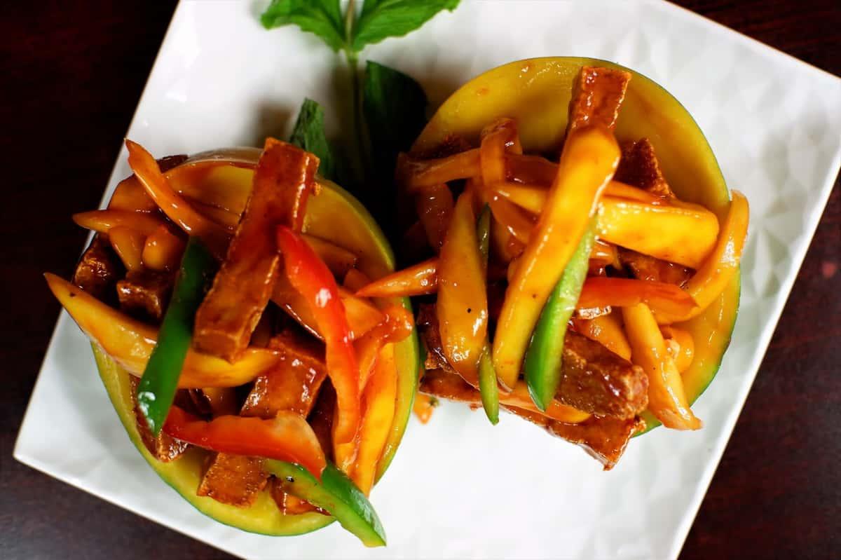 Mango Tofu 芒果豆腐