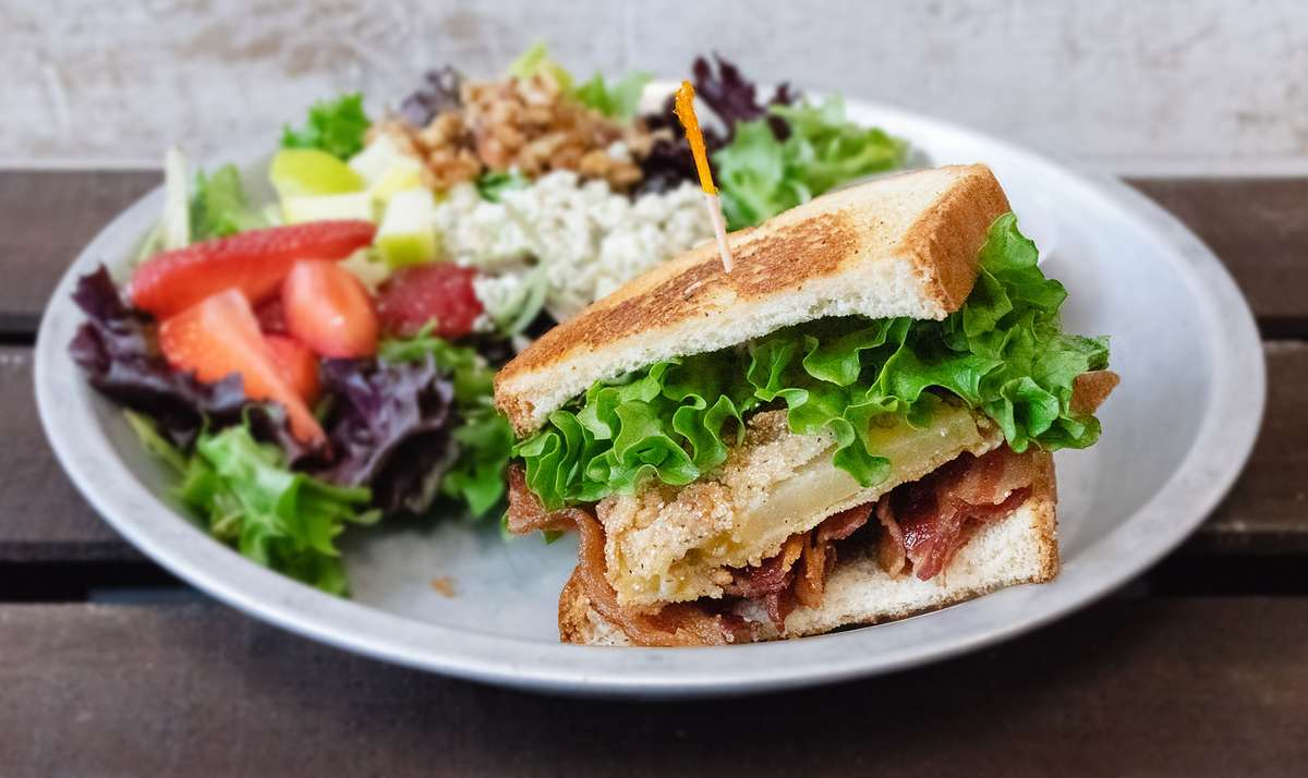 1/2 Sandwich & Small Salad