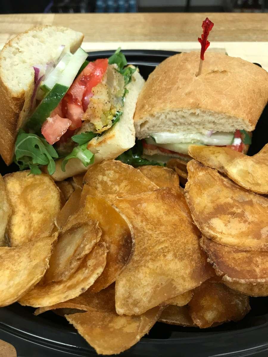 Gabriel's Tomato Sandwich