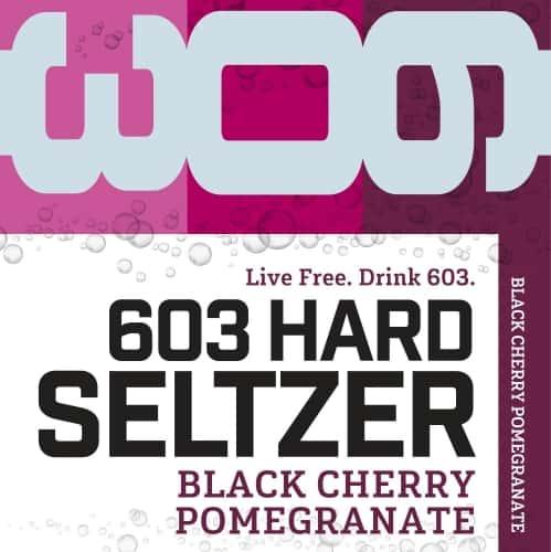 603 Hard Seltzer - Black Cherry Pomegranate