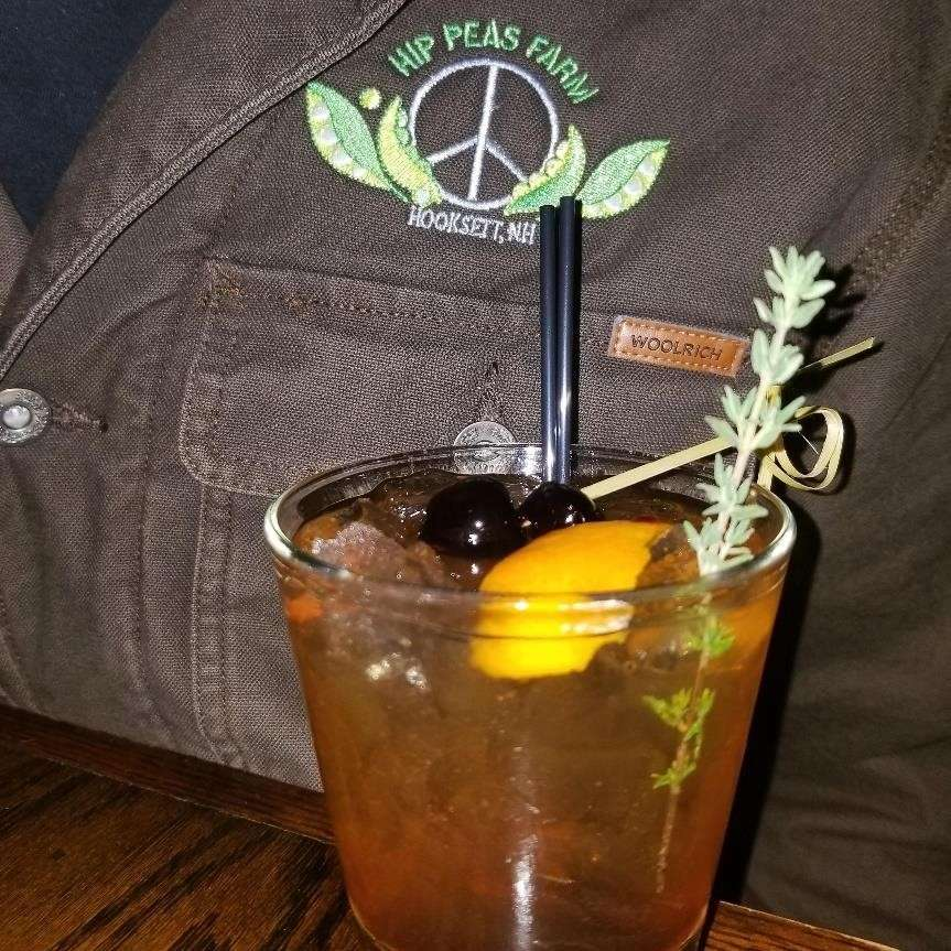 Hip Peas Old Fashioned