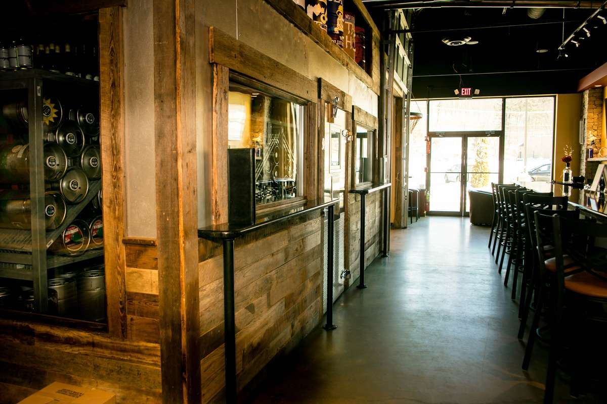 interior of New England's Tap House Grille