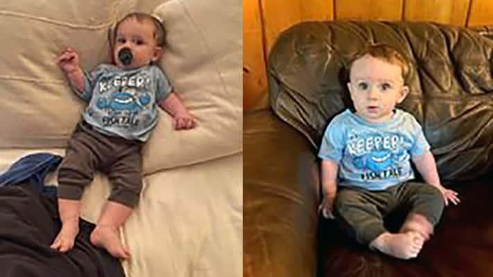 Luke at 7 Months