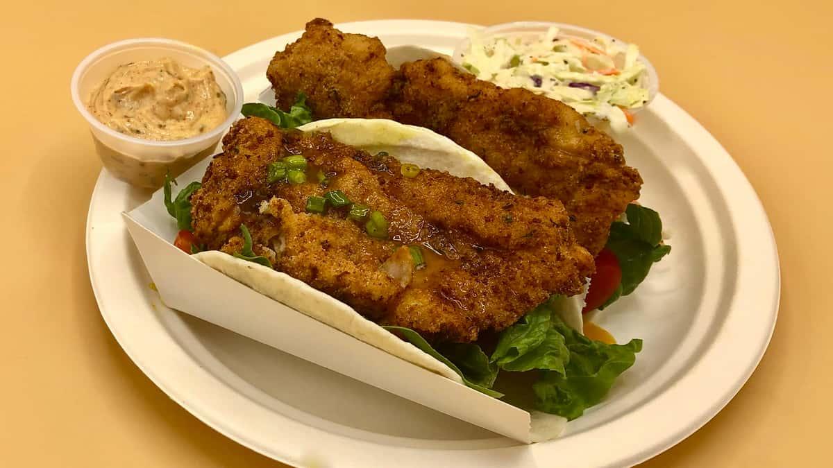 Taco- Madison Fish Tale Style