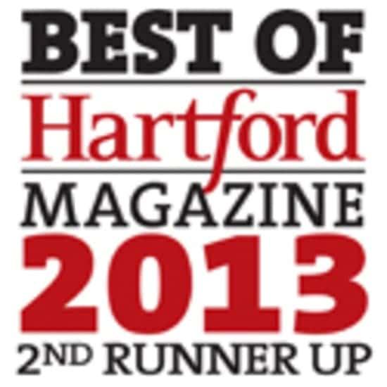 2013 Best Of Hartford Magazine's Reader's Poll
