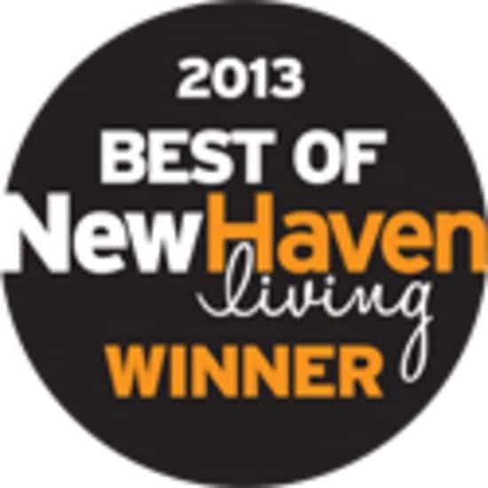 New Haven Living Magazine 2013 winner