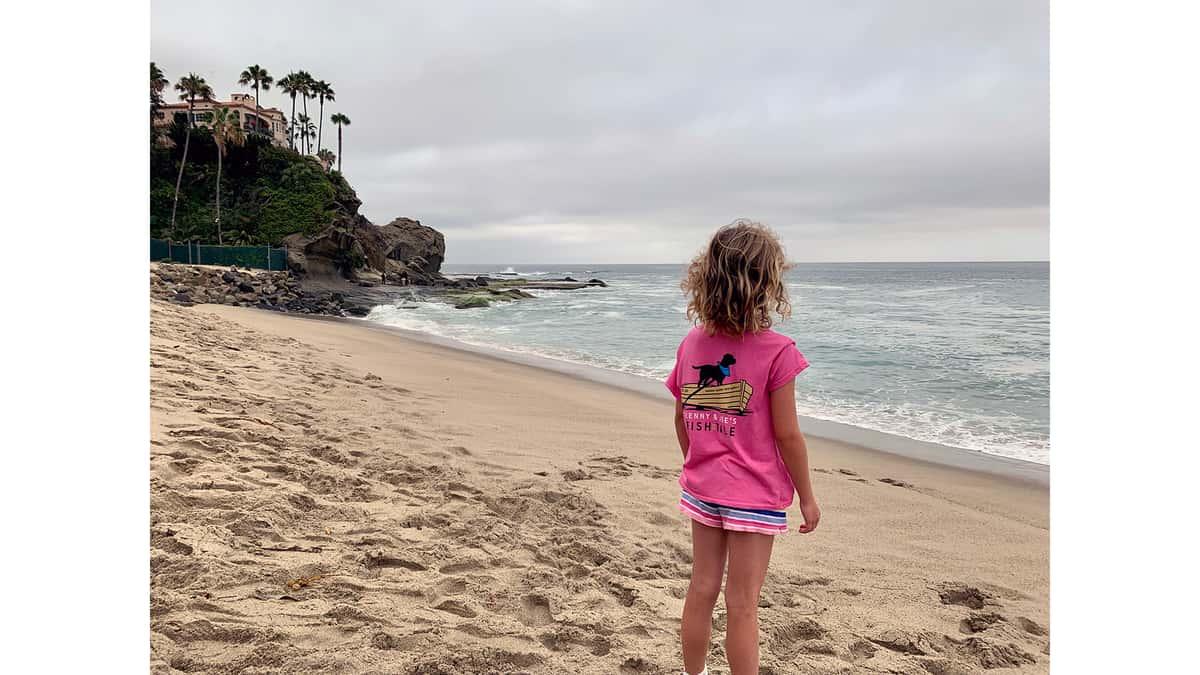 Young Child in FT T-Shirt atLaguna Beach