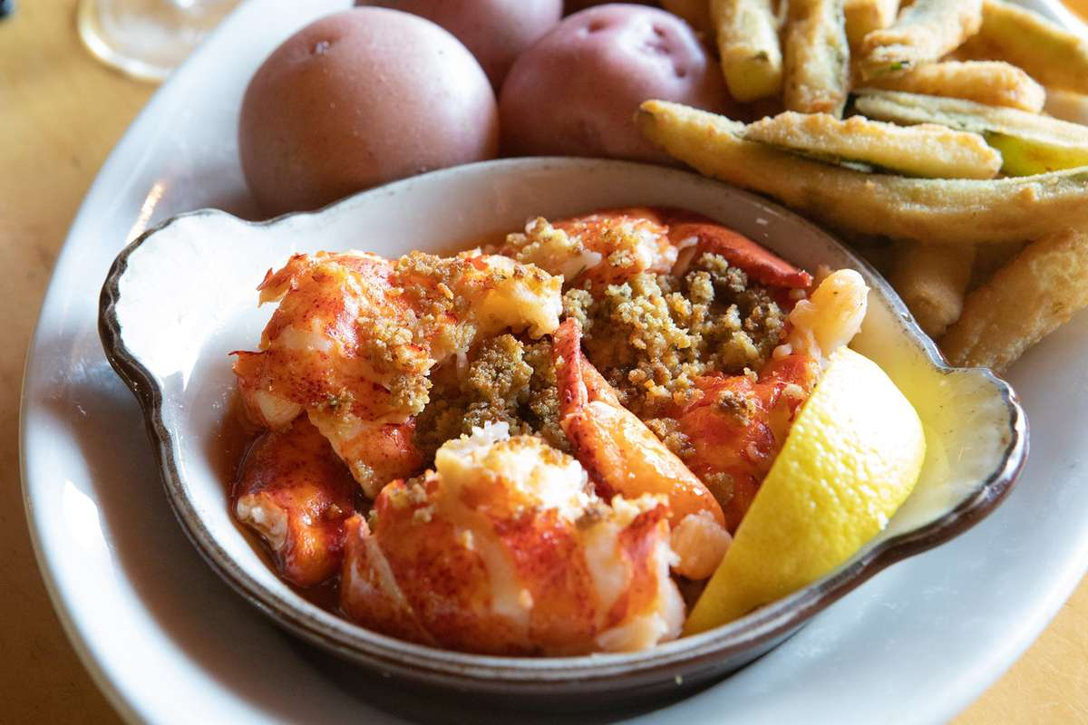 Broiled Lobster Casserole