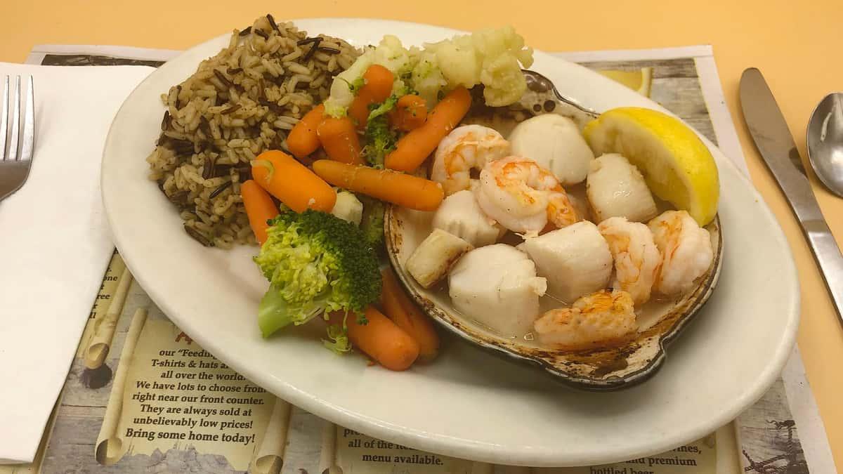 Light & Healthy Shrimp & Scallop Casserole