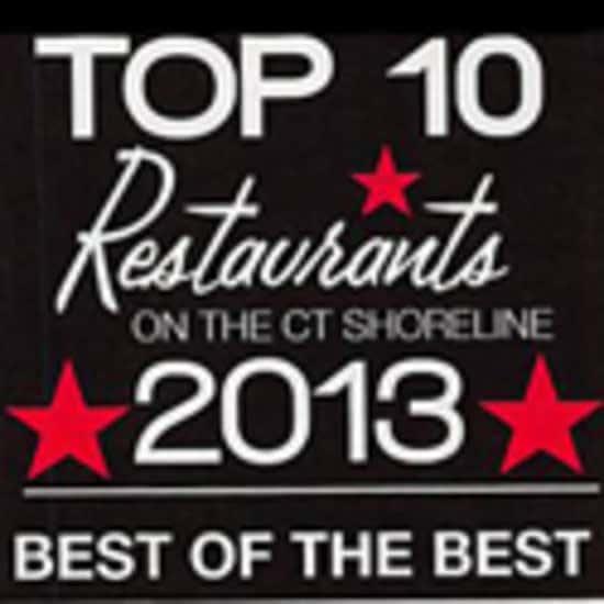 Shoreline Book Top 10 Restaurants 2013