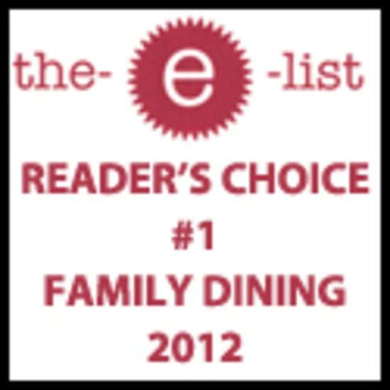 #1 family dining 2012