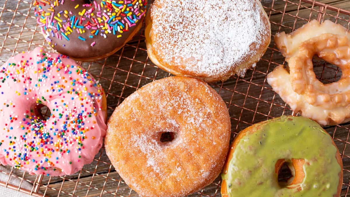 Classic assortment doughnuts