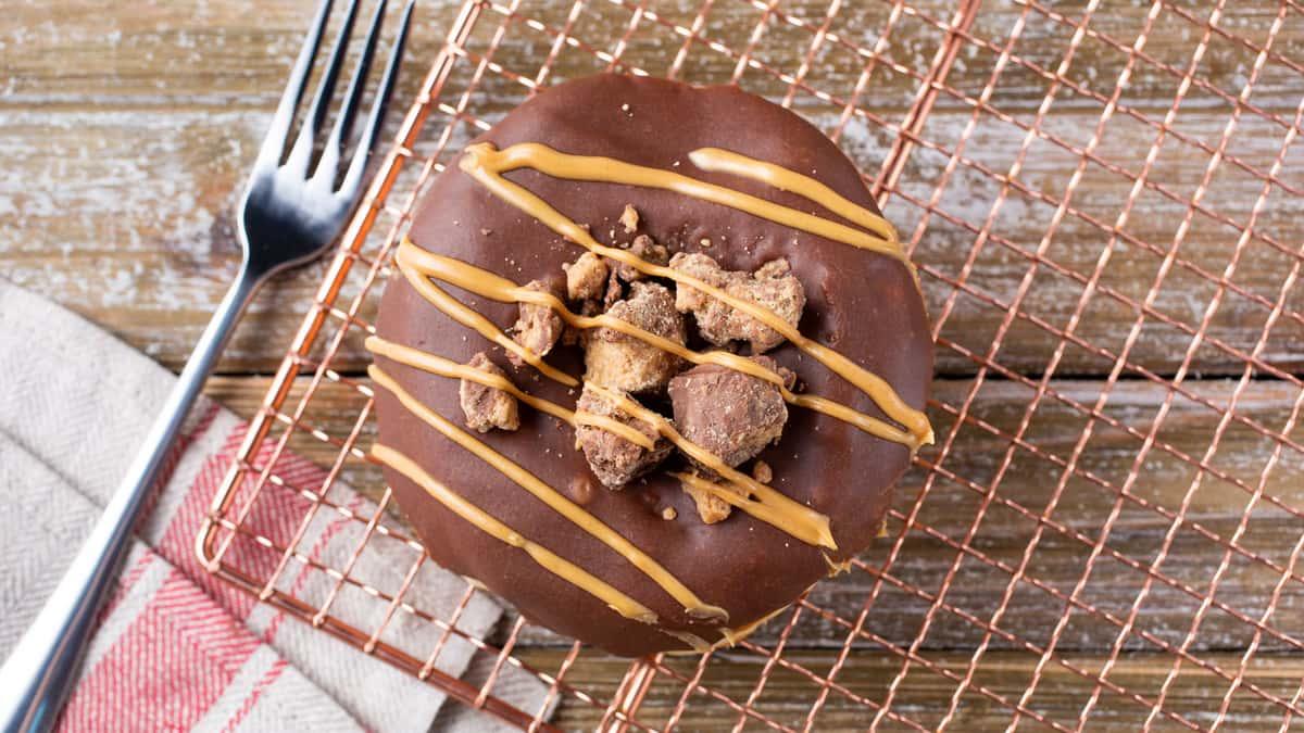 Reesces doughnut
