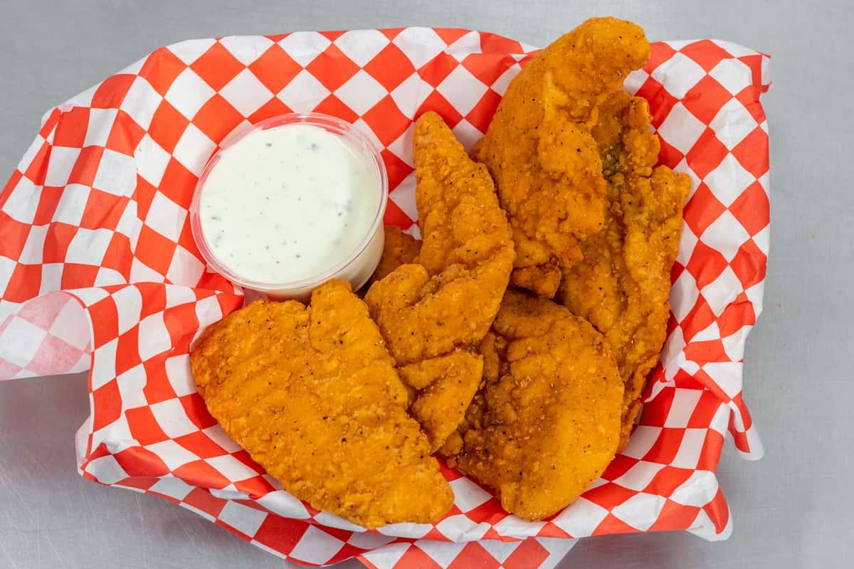 #8 Chicken Strips