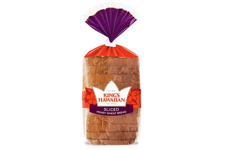 KING'S HAWAIIAN® || Honey Wheat Sliced Bread