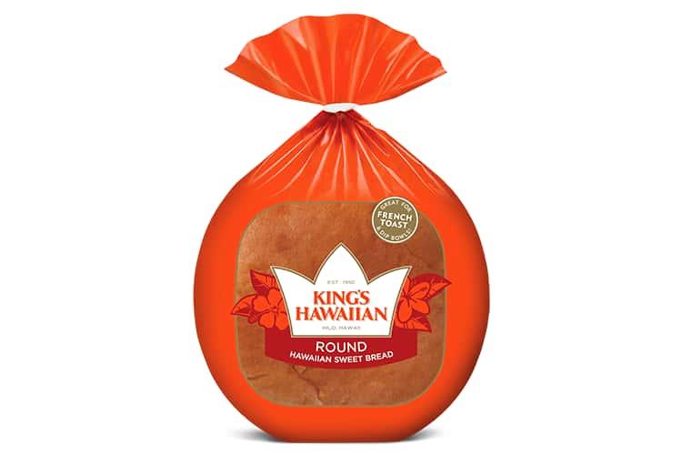 KING'S HAWAIIAN®    Round Bread