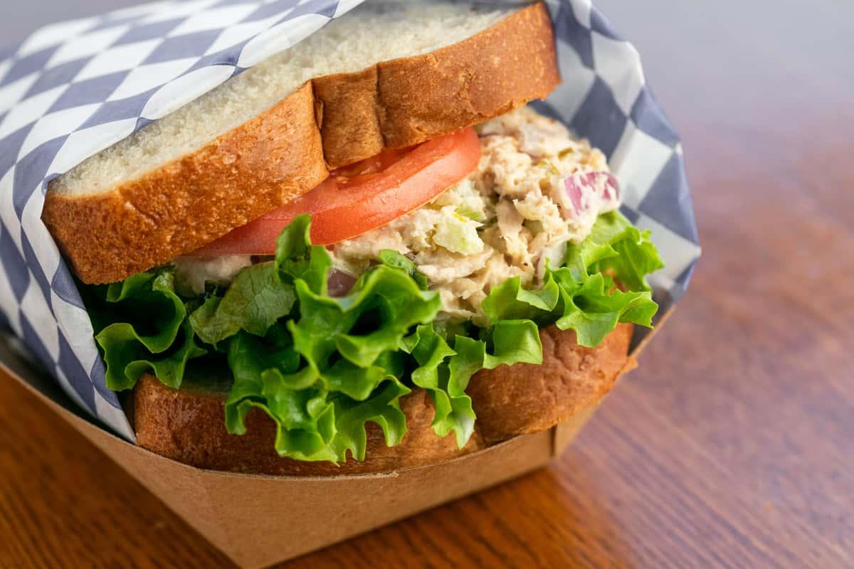 Islander Tuna Sandwich