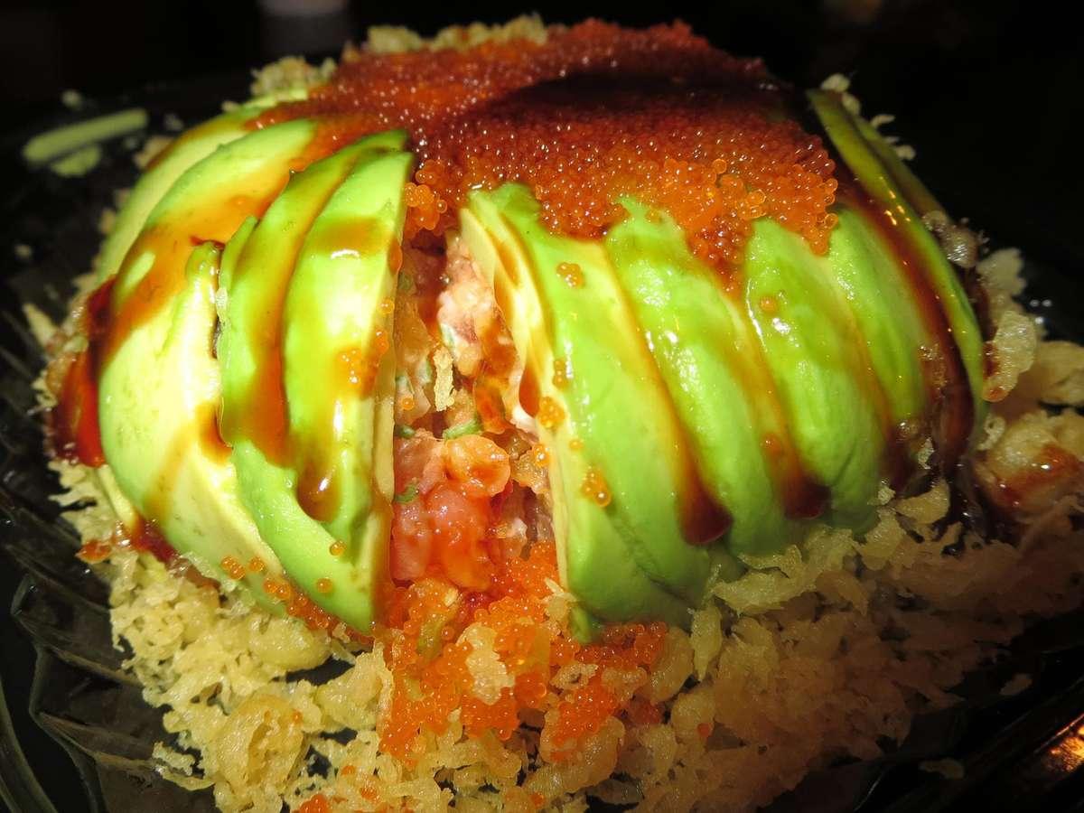 avocado crunch appetizer