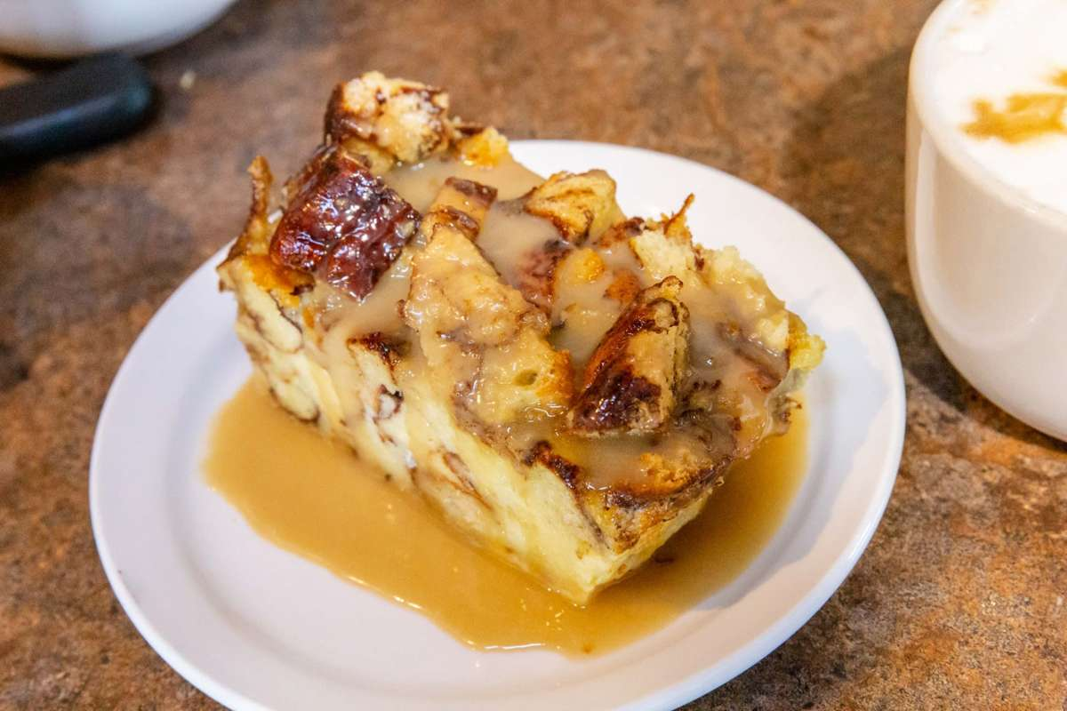 Cinnamon Roll Bread Pudding