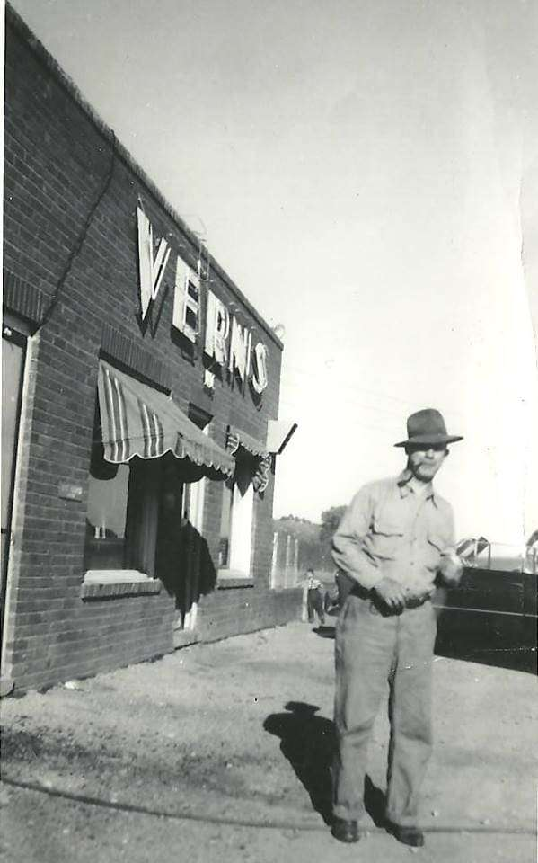 Vern's before the fire in 1990