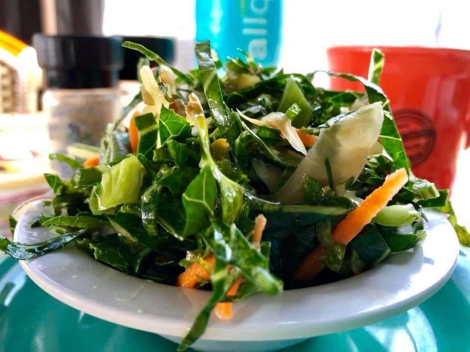 Collard Kale Salad