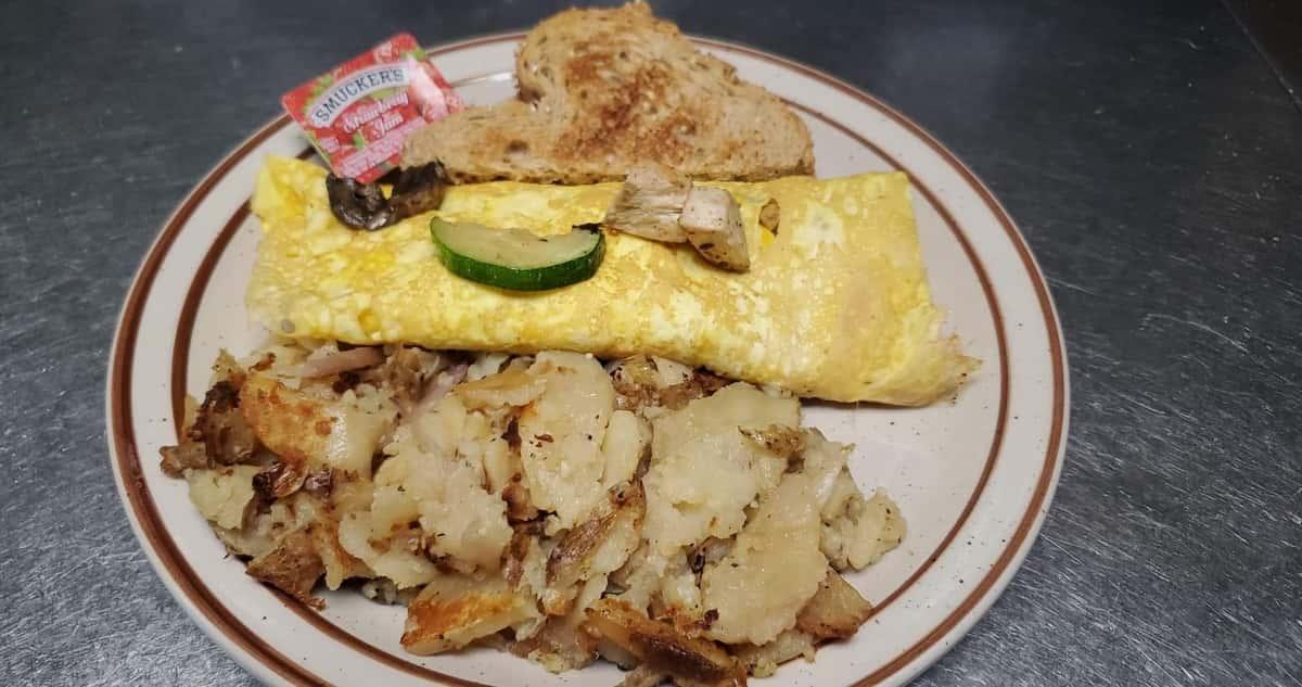 Chicken King Omelette