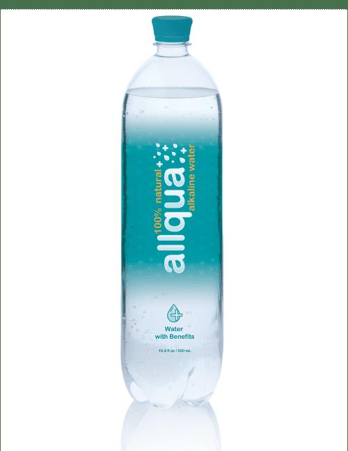 Allqua Natural Alkaline Bottled Water