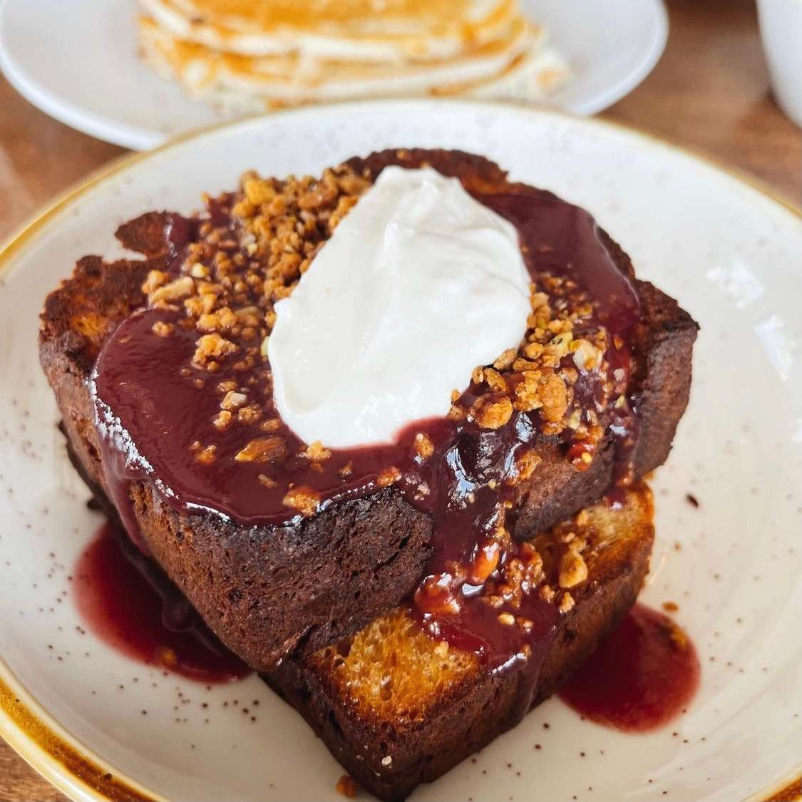 Twice Cooked French Toast