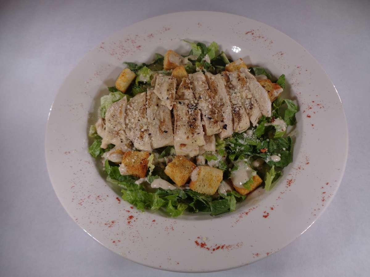 Chicken or Shrimp Caesar Salad
